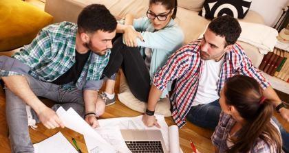 Hausarbeiten schreiben in Gruppenarbeit