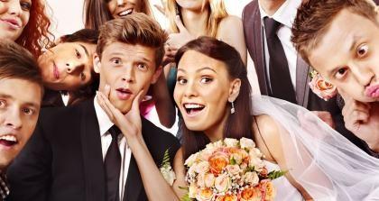 Studenten Hochzeit