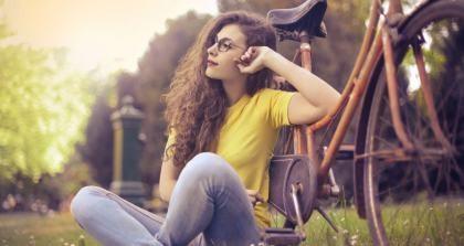 Mit dem Fahrrad zur Uni