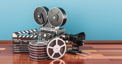 Filmkamera und Ausrüstung