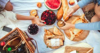 Leckere und günstige Sommergerichte, Pickick