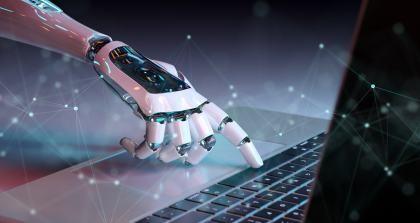 Einen Text vom Roboter Text schreiben lassen ist durch künstliche Intelligenz möglich.